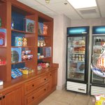 mini store for snacks and sundries