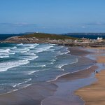  Fistral Bay beach