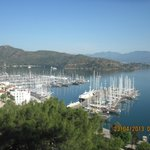 The view over Fethiye from the Kaya to Karagözler walk