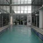 Rooftop pool - just outside fitness center