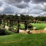 beautiful grounds , even in the gloomy weather