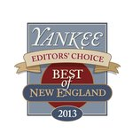 "Yankee Magazine 2013 ""Best of New England"" Editor's Choice Winner"