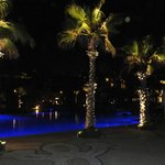 Main pool @ night!