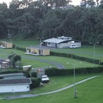 Opunake campsite - plenty of spaces to choose from
