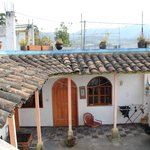 Shared Patio Hostal Chasqui