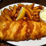 just maybe the worlds best fish and chips! I've been to London, been to Boston, but nobody and I