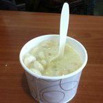 Chowder size on the ferry