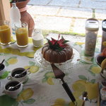  colazione in veranda