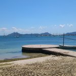  view from beach, puerto pollensa