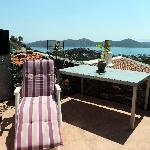 Time to chill out on our secluded roof terrace with its stunning views and sunny aspect