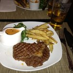 Steak and chips!