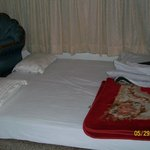 The bed.... Its super cozy,,,,