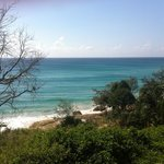 Beach from Straddie Hotel
