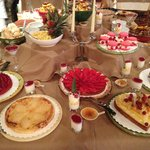 THE dessert buffet :)