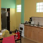 room 3 kitchen/bath entry