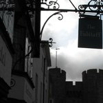  The Falstaff Hotel sign on St. Dunstan&#39;s Street, Canterbury