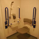 Disabled Access - Wet Room in Hotel