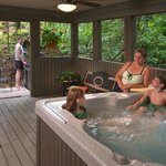 Hot Tubs in Every Cabin