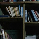 books collection at payung guest house