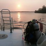  Dive Boat Sunset
