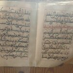 A handwritten copy of the Holy Quran (over 800) years old