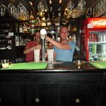  very down to earth and let us behind the bar to take photos, Charlie the owner is a nice genuine