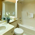 Enjoy our Comfort Care bath line and amenities