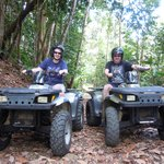 Enjoying ATV Paradise tour!