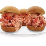  Lobster salad slider on a brioche roll