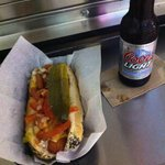  Best Chicago Dog with Beer Before Madonna