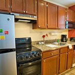 One & Two-Bedroom Suite Kitchen