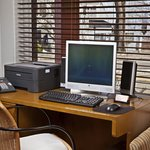  A computer is available at the front desk