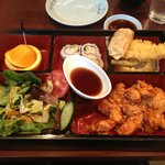  Korean spicy chicken Bento Box