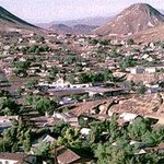  View of Tonopah, a quaint silver mining town.