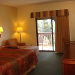 King guest room includes balcony & free Wi-Fi