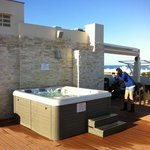 jacuzzi all ultimo piano
