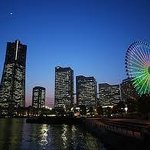  Minato Mirai a noite