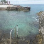 One of the entrances into the ocean - be careful - sea urchins here