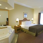  King Whirlpool Suite, relax and enjoy!