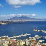 Vesuvio and Naples Gulf - Panoramic view