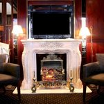 Rathbone Hotel FIREPLACE