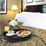 Room Service is Available from Fairfields Restaura