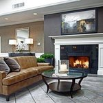  Lobby Space with Comfortable Seating and a Firepla