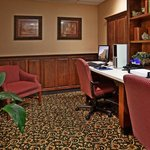 Get work done on the road in our business center.