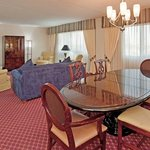 Presidential Suite - View of Living and Dining Area