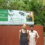  Ayurveda Student with Doctor Dr Sreejithkumar