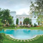 The pool at The Pataudi Palace