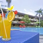Narmada Pool Bar & Swimming Pool, Hotel Grand Legi Mataram