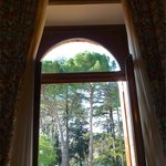  view from inside room towards terrace