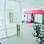 Poolside Fitness Room